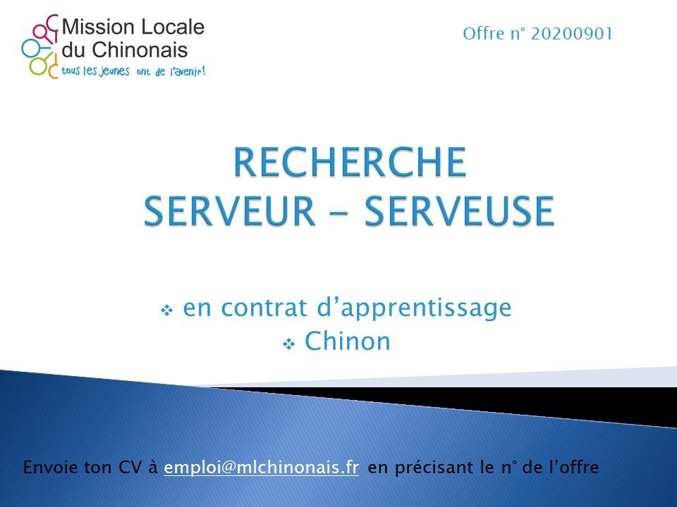 Apprentissage Serveur Chinon